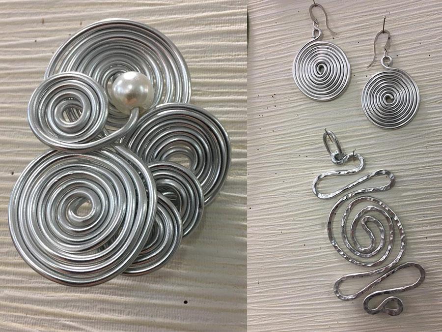 corso di gioielli in alluminio